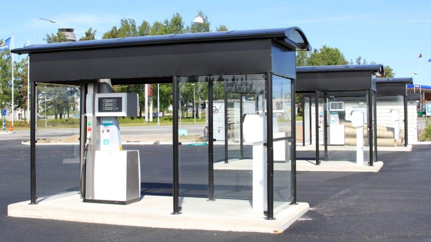 Mer gas i Stockholmstrafiken