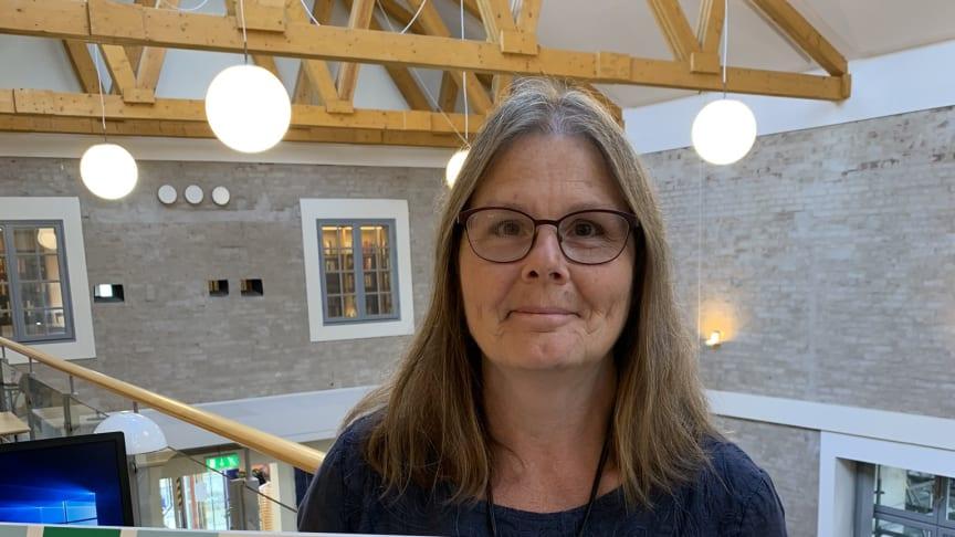 Tine Billing Årets medarbetare i Eslövs kommun 2020.