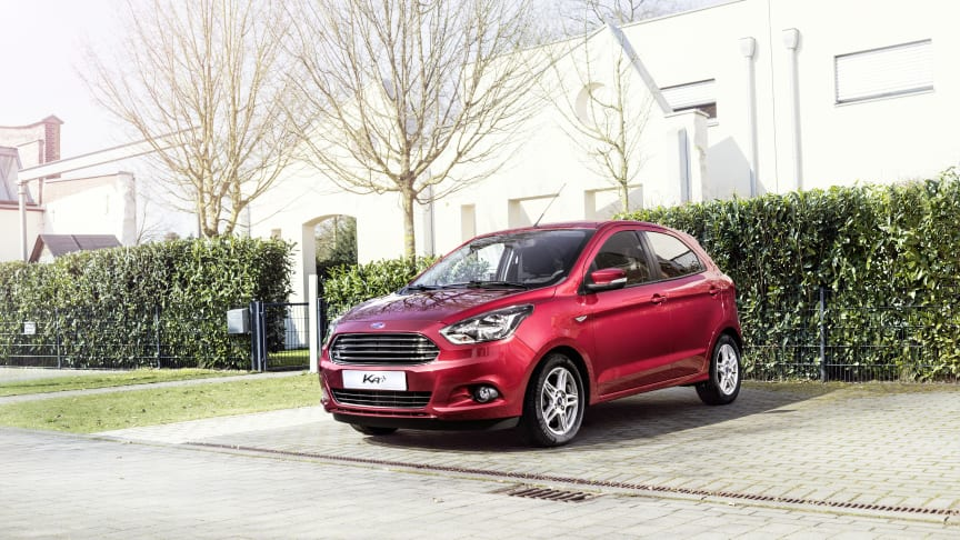 Ny Ford KA+: Større, bedre og morsommere