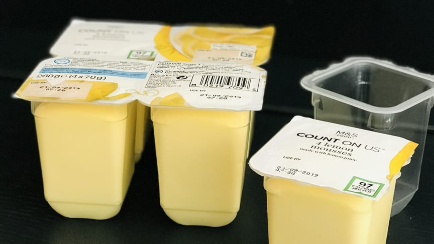 Faerch is first to market with rPET & PP Snap Packs to replace styrene for the Dairy Market