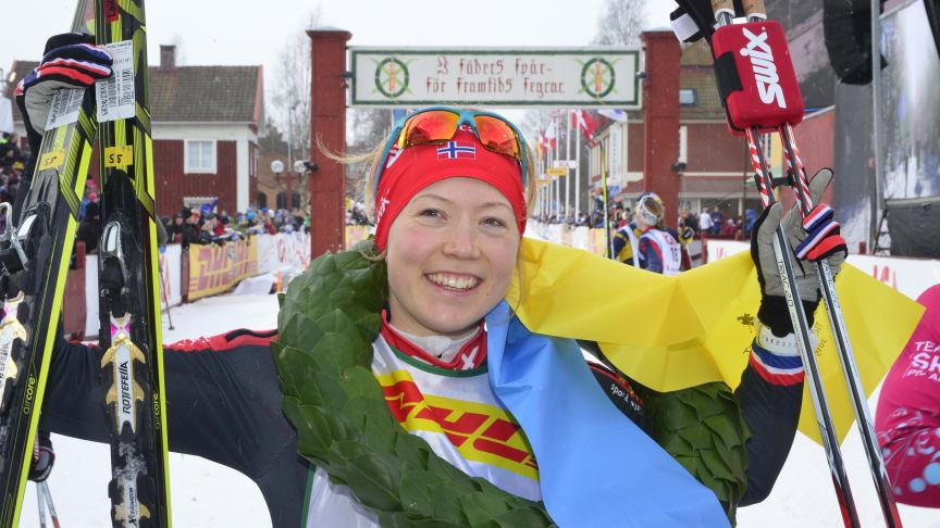 Laila Kveli won TjejVasan 2015