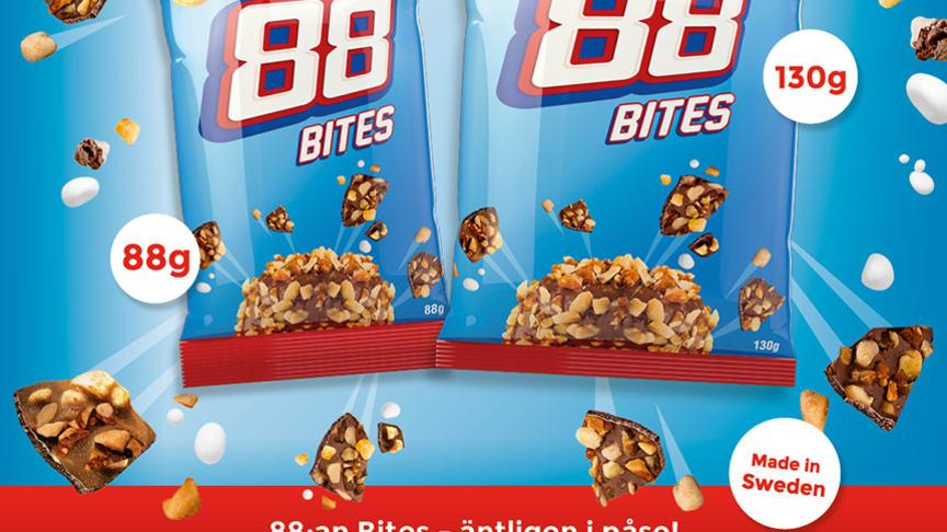 Succén fortsätter i påse – 88:an Bites är här!
