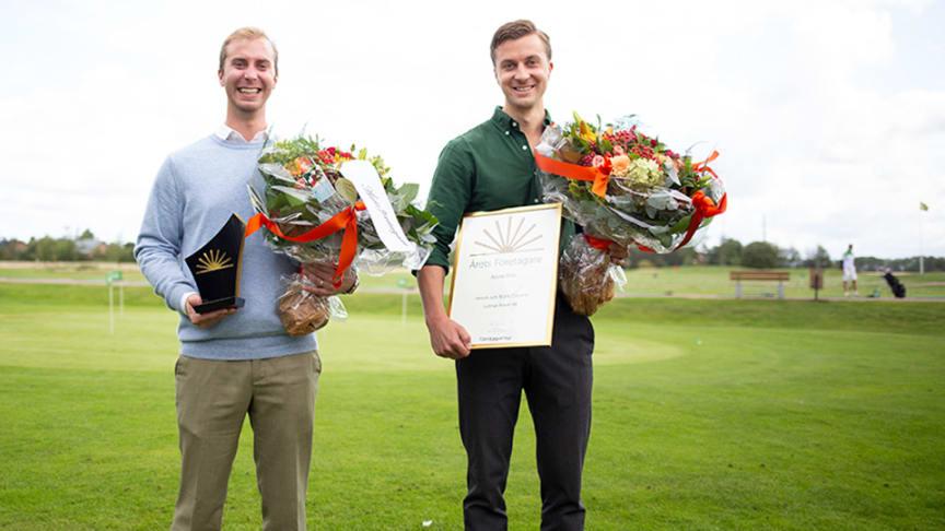 Henrik och Björn Gibrand är Årets företagare i Åstorp.