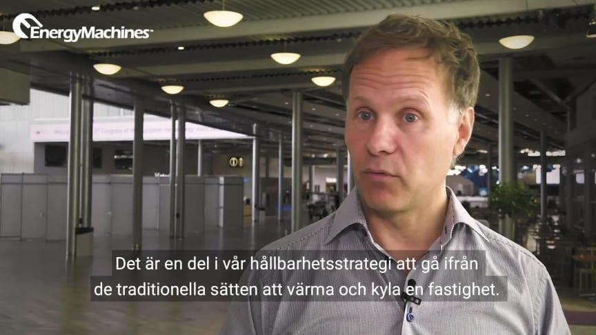 Stockholmsmässan - vinner internationella evenemang med hållbar energi