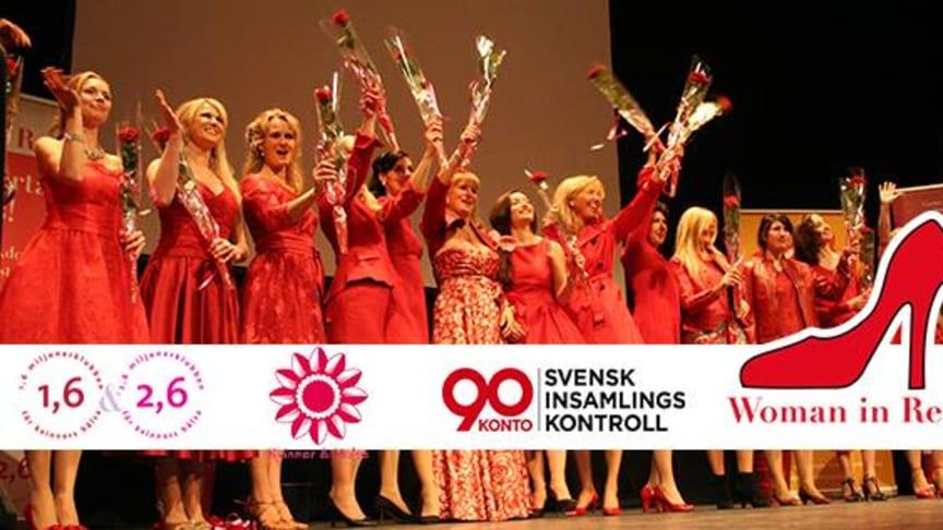 Woman in Red Vår årliga kampanj för kvinnohjärta