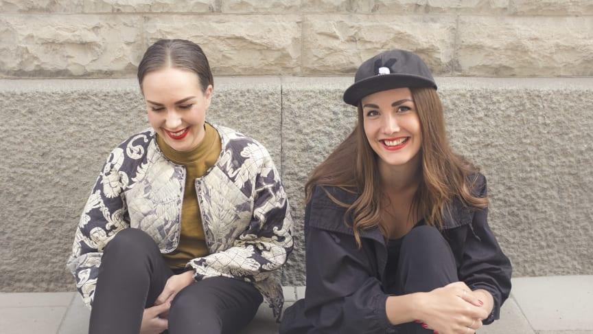 Mikaela Ejheden och Lina Pettersson klubbarrangörer på Boulebar Stockholm.