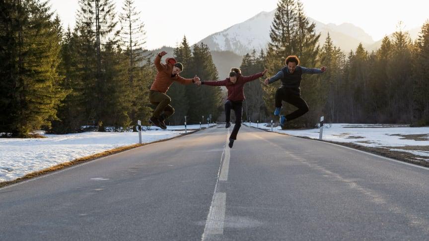 Die Freude an Bewegung für Wander- und Trekking-Fans.
