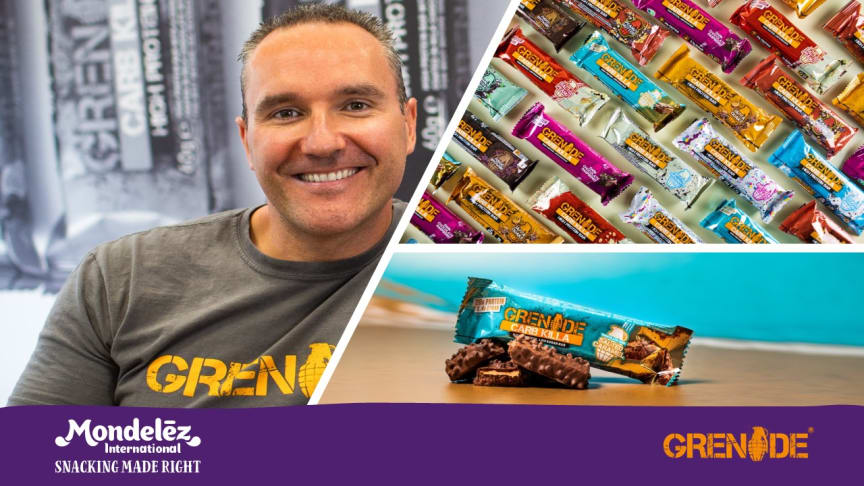Mondelēz International Acquires Grenade,  a leading UK performance nutrition company
