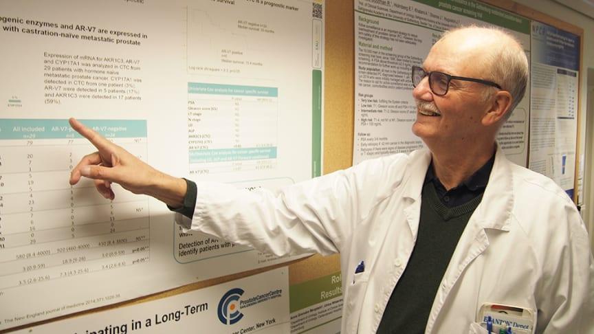 Jan-Erik Damber, professor i urologi vid Sahlgrenska Akademin, Göteborgs universitet. Foto: Anders Hansson.