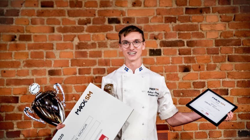 Gabriel Olsson vann Mack-SM 2020. Fotograf: Sara Trus