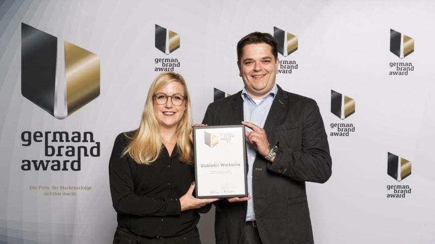 Blåkläder erhält den German Brand Award 2017