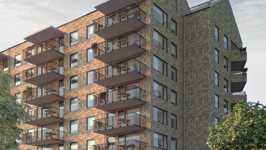 Allmogekulturen. 44 nya bostäder på Vallby.