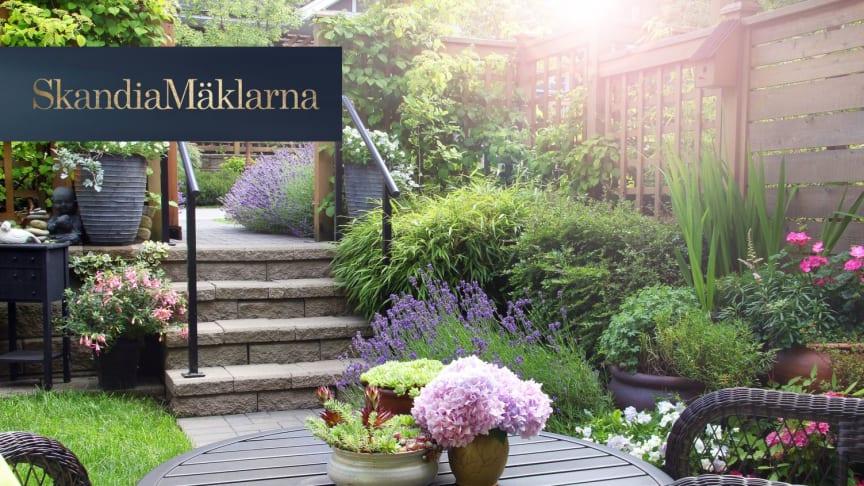 Höjer en fin trädgård husets värde?