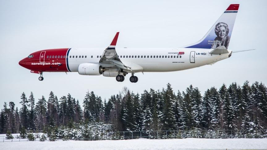 Norwegianilla ennätyskorkea käyttöaste – lensi 26 miljoonaa matkustajaa vuonna 2015