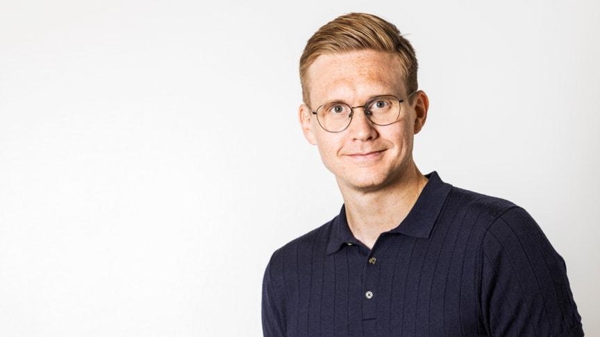 Abicarts nya vd Jens Halvarsson.