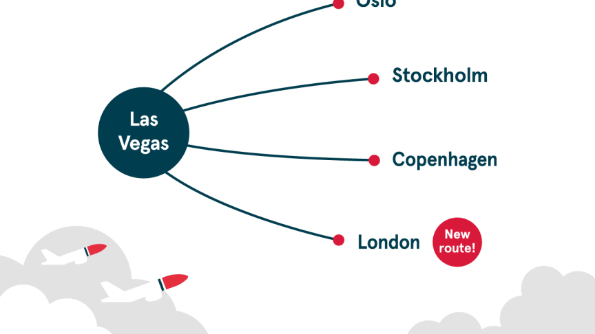 Norwegian announces UK's cheapest direct flight to Las Vegas from just £179