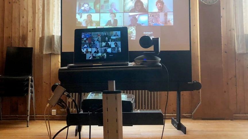 Videokonferenz (Symbolbild, Foto: Edda Nehmiz)