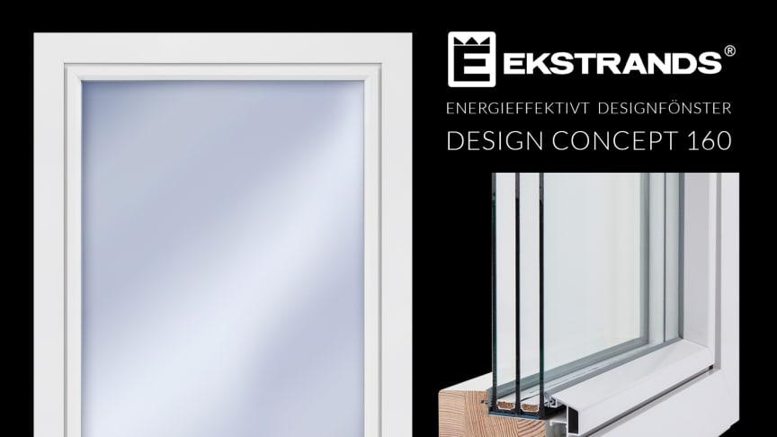 Energieffektivt designfönster - Design Concept 106