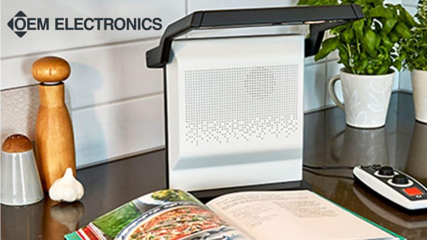 Effektiv termisk avledare för små ytor