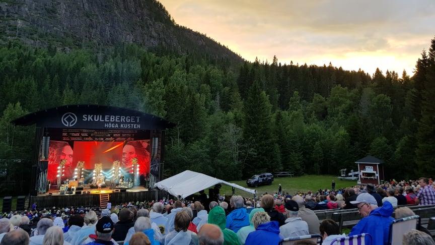Sweden Live utsåg under onsdagskvällen Naturscen Skuleberget till Årets Konsertplats 2019.