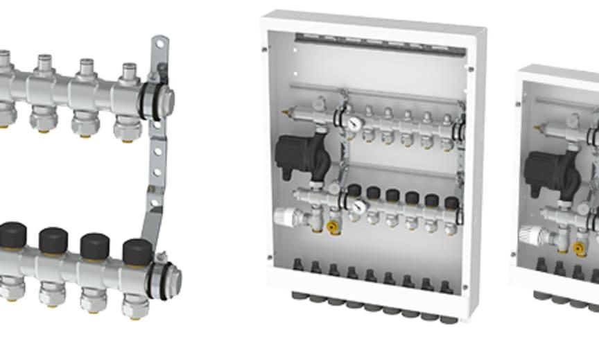Thermotech Integral - en shunt med integrerad fördelare