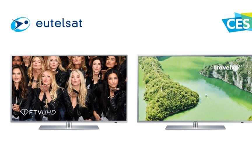 Crédit photo :  Eutelsat, Fashion tv et Travelxp