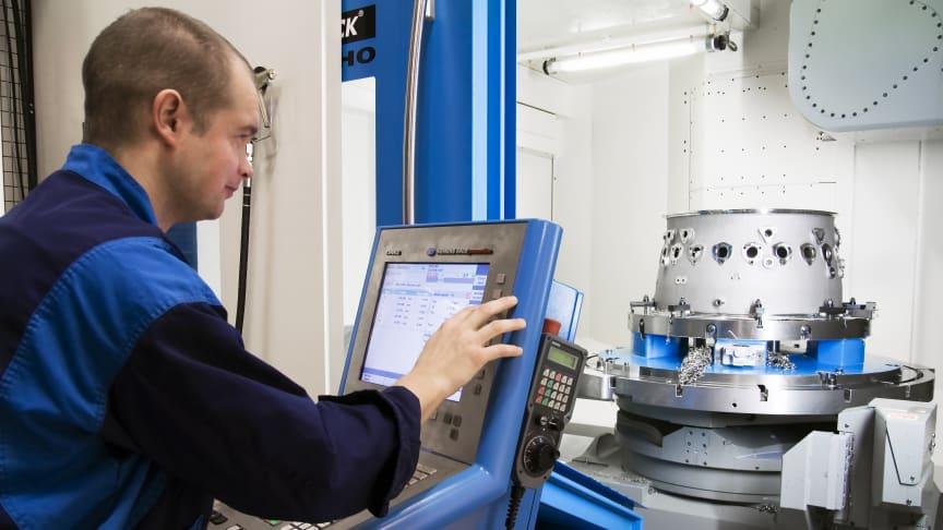 Tillverkning av avancerade motorkomponenter för civila flygmotorer