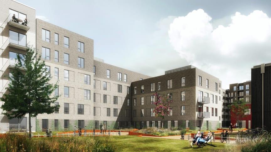 109 nye, almene boliger opføres nu ved Amager Strand