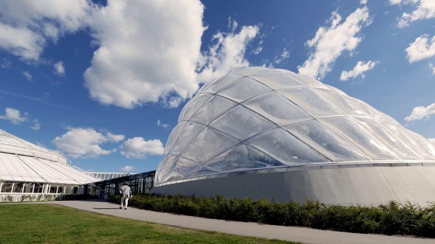 BMS-styring sikrer sarte planter i botanisk perle