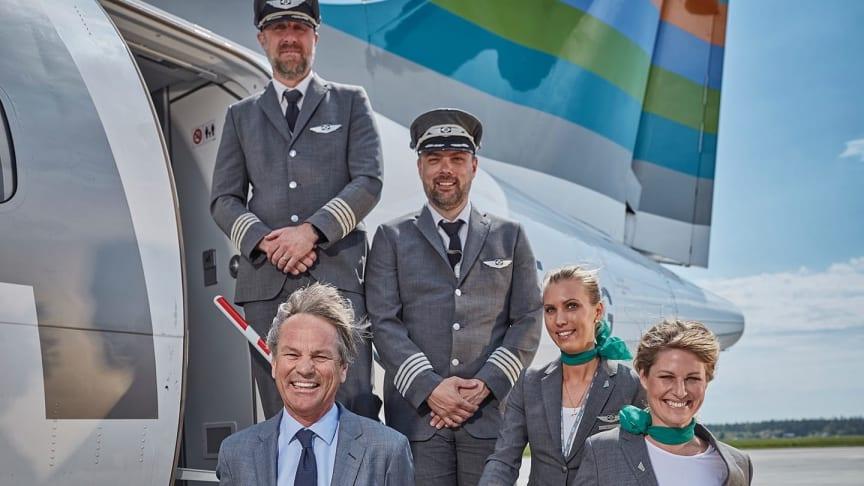 Succés för flygbolaget BRA i Ängelholm – sommaren överträffade alla förväntningar