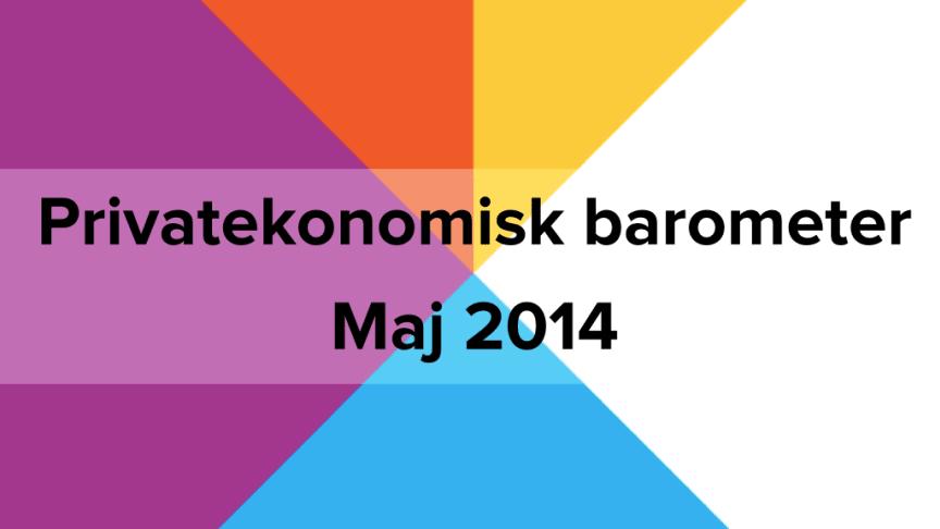 Privatekonomisk barometer maj 2014