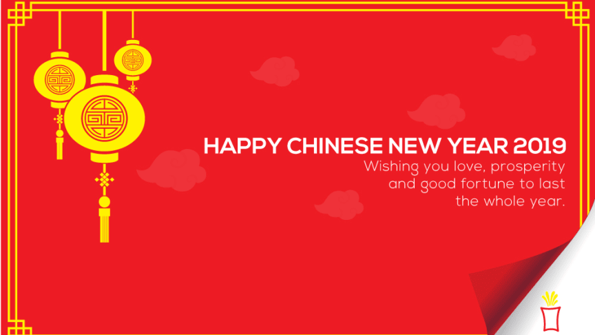 Best wishes for the new lunar year
