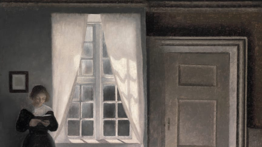 "Vilhelm Hammershøi: ""Interior, Strandgade 30"" (1900). Sold for: USD 6 million / EUR 5,5 million including buyer's premium)"