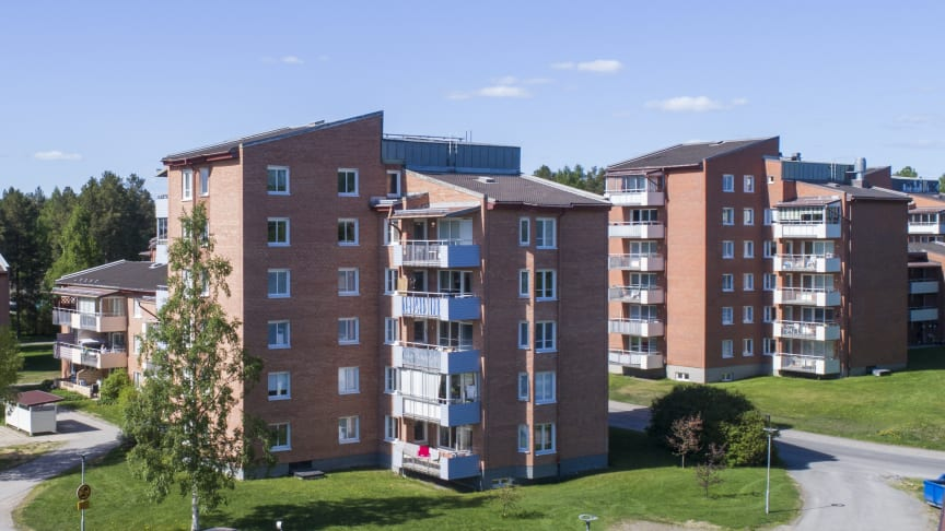 Förvärvet omfattar bland annat 766 lägenheter på Morö Backe. Foto: Patrick Degerman.