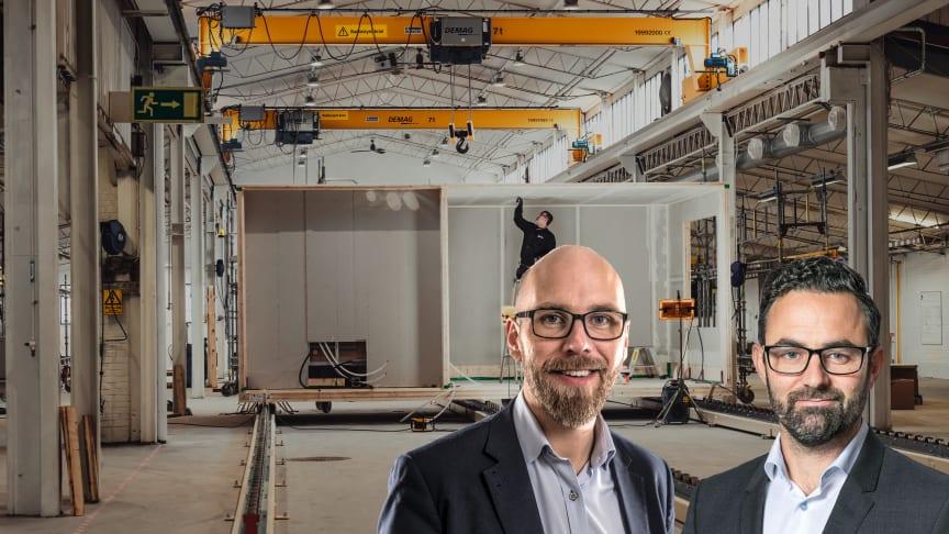 Niklas Andersson, Sizes (till vänster) Magnus Johansson, Kuststaden (till höger)