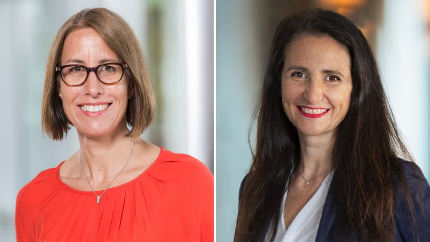 Julia Raquet (left) and Ilaria Resta (right), new members of the IFRA Board