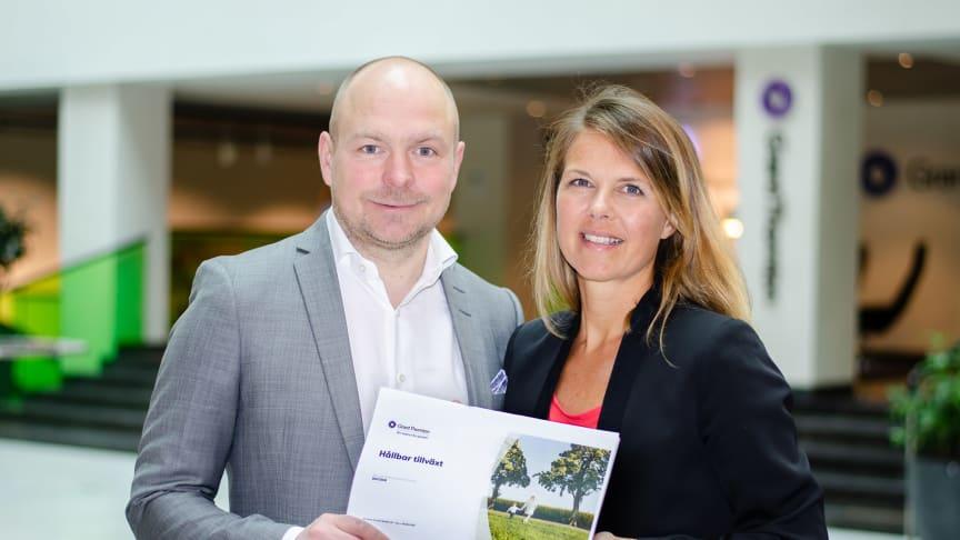 Daniel Forsgren och Linda Mannerby