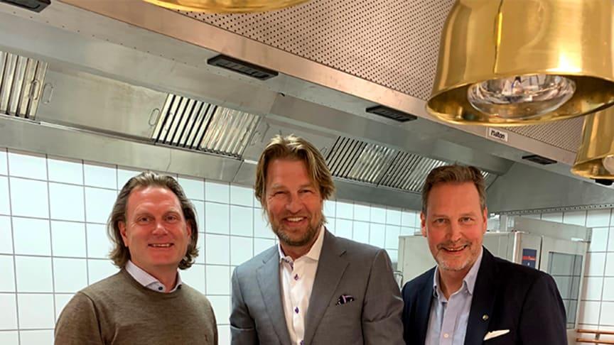 Från vänster: Martin Eriksson, Lars Bengtsson, Magnus Gustafsson