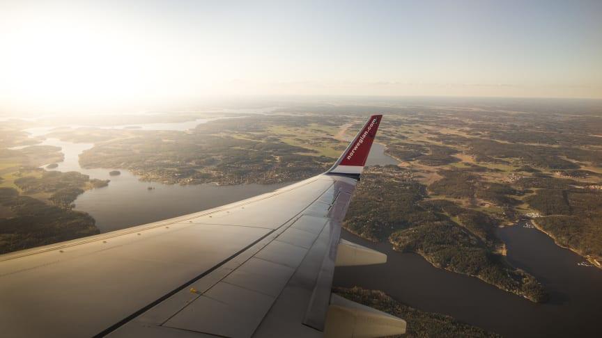 Norwegian erbjuder klimatkompensation och blir första flygbolaget att underteckna FN:s initiativ för klimatåtgärder