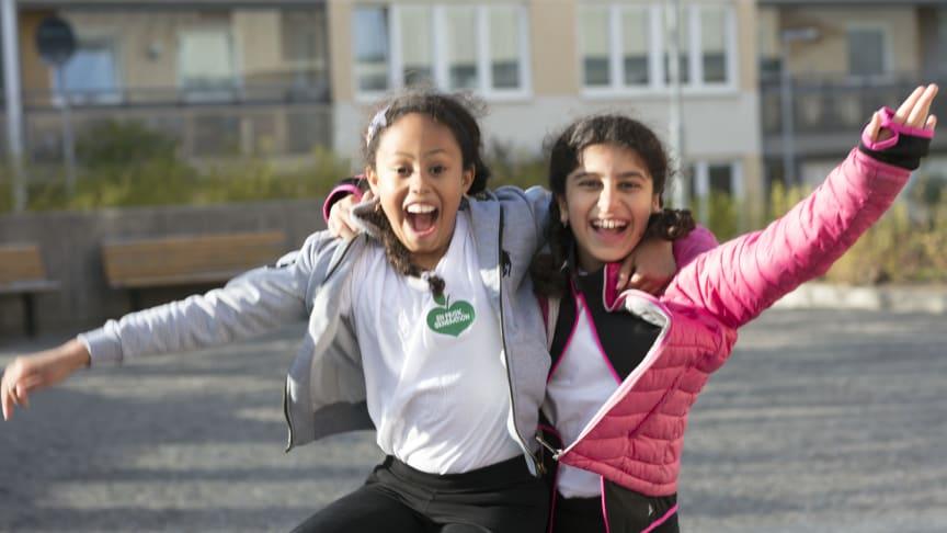 STF och En Frisk Generation inleder samarbete för alla barns rätt till naturen. Foto: Oskar Kihlborg