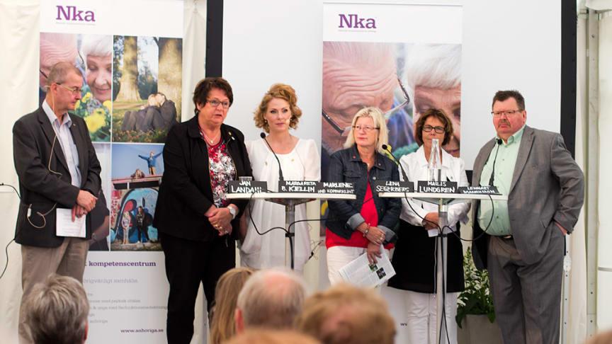 Debatt om anhörigstöd: Stärkt lagstiftning, dokumentation och utbildning efterfrågas!