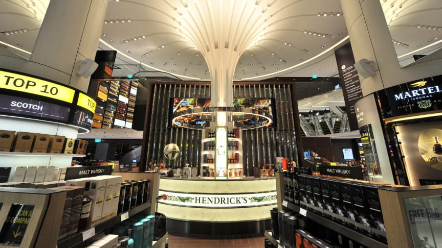 DFS unveils new Wines and Spirits flagship store at Changi Airport