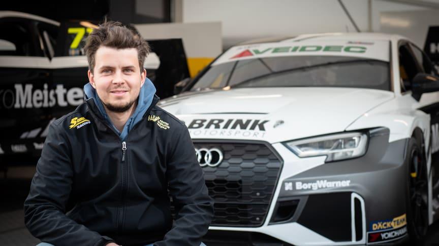 Lukas Sundahl, Brink Motorsport. Foto: Anders Helgesson