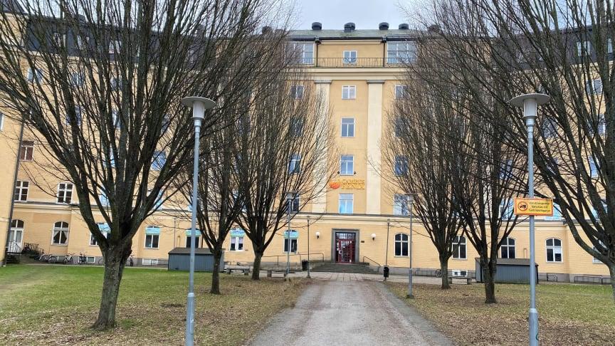 Yrkesgymnasiet i Norrköping startar upp verksamheten i dessa lokaler.