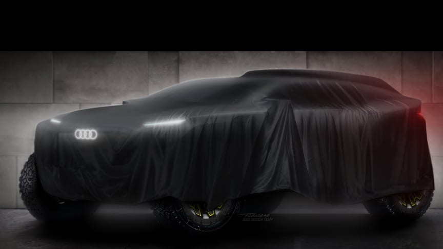 Audi går ind i Dakar Rally