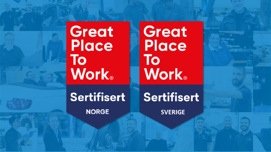 For fjerde gang på rad innfrir Hedin Automotive og datterselskapene kravene som stilles for å bli sertifisert av Great Place To Work.