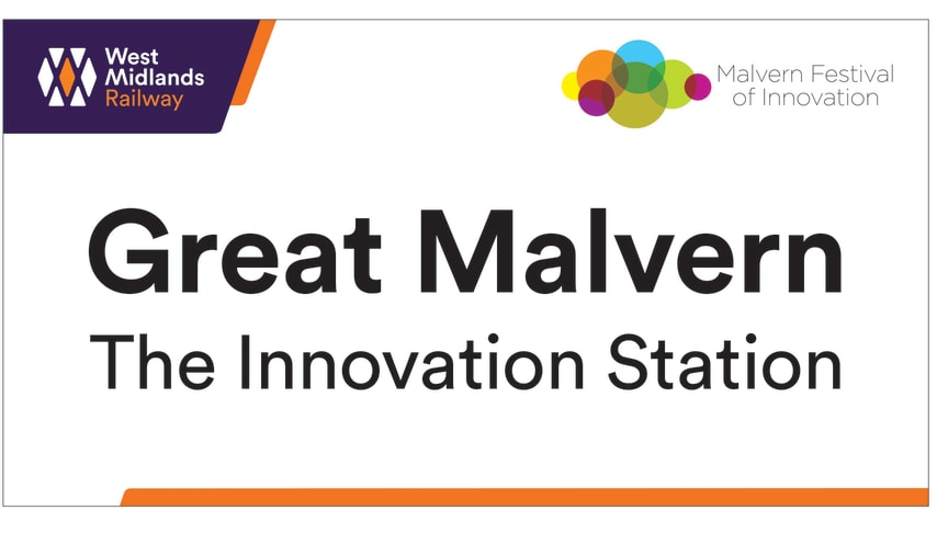 Great Malvern will become 'The Innovation Station' from 8 - 13 October, during Malvern Festival of Innovation