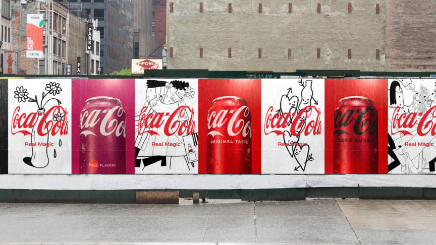 Coca-Cola präsentiert mit Real Magic neue Markenplattform