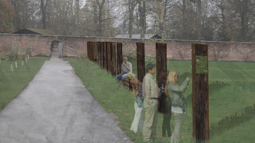 Gibside's Walled Garden to host Northumbria University students' artwork