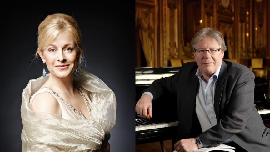 Lisa Larsson (photo: Merlijn Doomernik) and Rolf Martinsson (photo: Mats Bäcker)